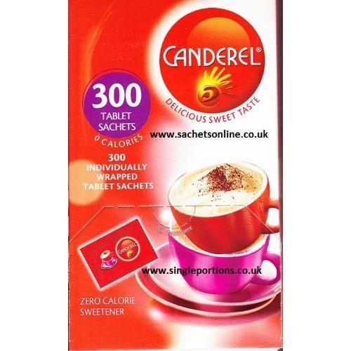 Canderel Yellow Zero Calorie Sweetener 300 Sachets 25.5g